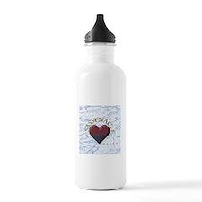 sassenach heart Water Bottle