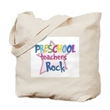 Preschool teacher Canvas Totes