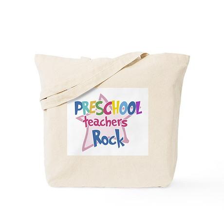 Preschool Teachers Rock - Tote Bag