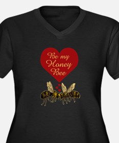 Honey Bee Plus Size T-Shirt