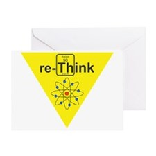 re-Think b Greeting Card