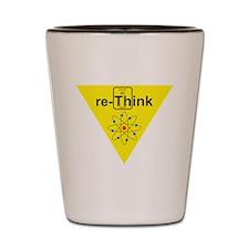 re-Think b Shot Glass