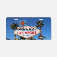 Cute Las vegas Aluminum License Plate