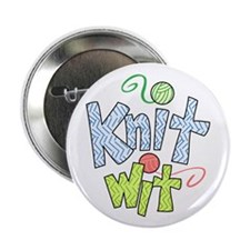 """KNIT WIT 2.25"""" Button (10 pack)"""