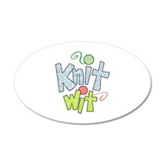 KNIT WIT Wall Decal