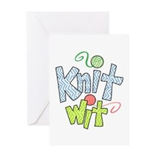 KNIT WIT Greeting Cards