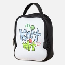 KNIT WIT Neoprene Lunch Bag