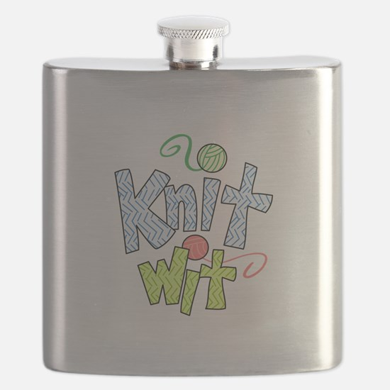 KNIT WIT Flask