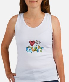 LOVE TO QUILT Tank Top