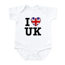 I Love UK Infant Bodysuit