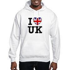 I Love UK Hoodie