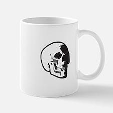 HUMAN SKULL APPLIQUE Mugs