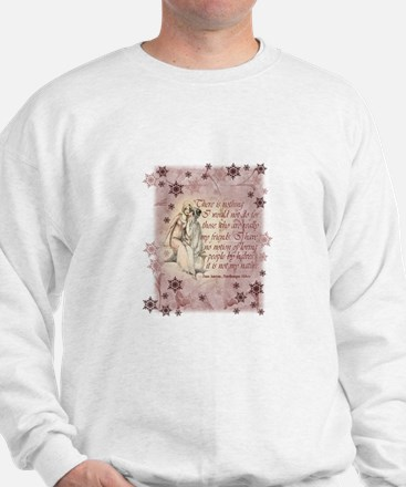 Jane Austen Quote Sweatshirt