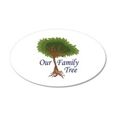 OUR FAMILY TREE Wall Decal