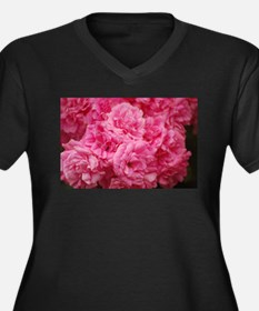 Pale pink roses Plus Size T-Shirt