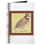 Bobwhite Framed Journal