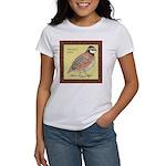 Bobwhite Framed Women's T-Shirt