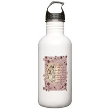 Jane Austen Quote Water Bottle