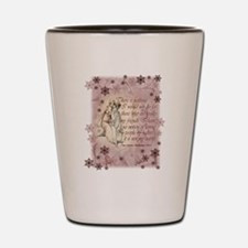 Jane Austen Quote Shot Glass