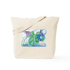 Marlin Sea Serpent Tote Bag