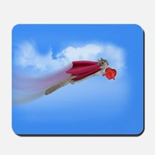 Valentine's Day Flying Squirrel Mousepad