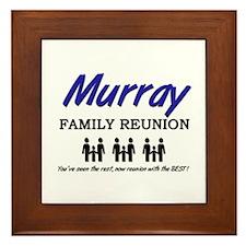Murray Family Reunion Framed Tile