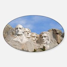 Rushmore 1682 Oval Decal