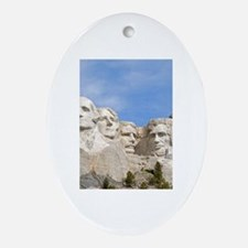 Rushmore 1682 Oval Ornament