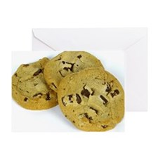 Cute Chocolate chip cookies Greeting Card
