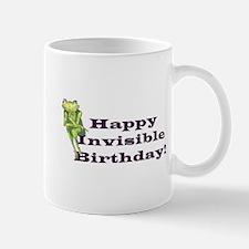 Happy Invisible Birthday Mugs