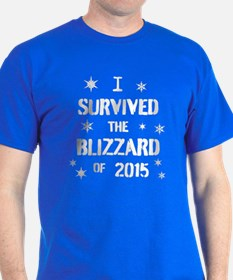 I survived the blizzard of 2015 T-Shirt