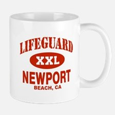Lifeguard Newport Beach Mug