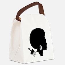 Cute 70s Canvas Lunch Bag