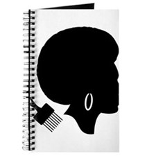 vintage black afro american woman Journal