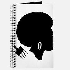 vintage black afro american woman Journal