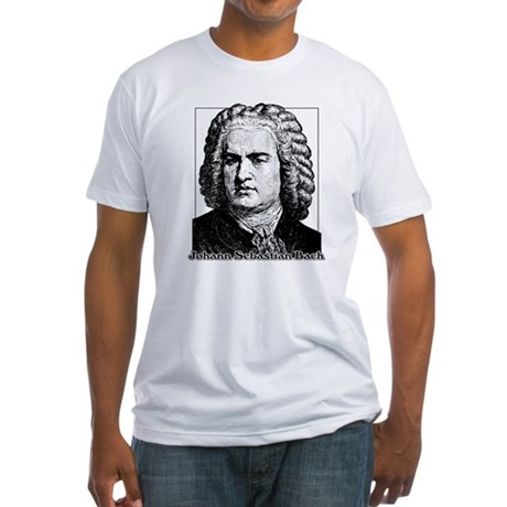 J.S. Bach Fitted T-Shirt