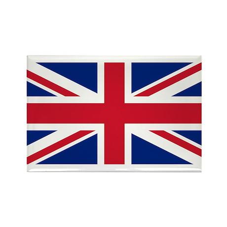UK Rectangle Magnet (10 pack)