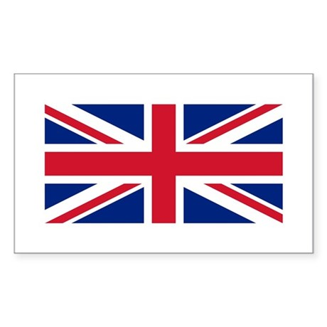 UK Rectangle Sticker