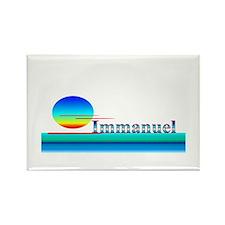 Immanuel Rectangle Magnet