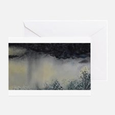 Rain Storm Greeting Cards