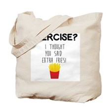 Cute French fries Tote Bag