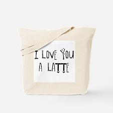 Cute Latte Tote Bag