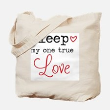 Cute Sleep Tote Bag