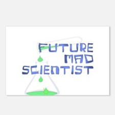 Future Mad Scientist 2 Postcards (Package of 8)