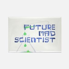 Future Mad Scientist 2 Rectangle Magnet