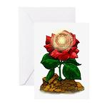 Rose & Universe Greeting Cards (Pk of 10)