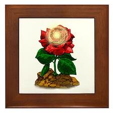 Rose & Universe Framed Tile