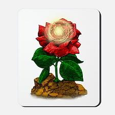 Rose & Universe Mousepad