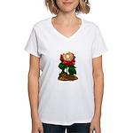 Rose & Universe Women's V-Neck T-Shirt