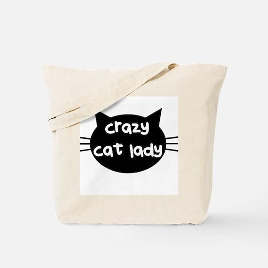 Crazy Cat Lady Tote Bag